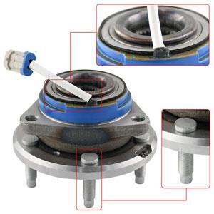 ford explorer sport trac mercury mountaineer front hub bearing,ford mercury wheel hub bearing
