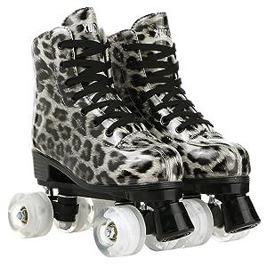 Indoor roller skates