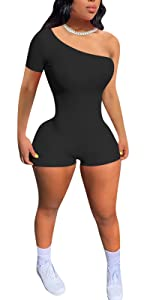 One Piece one shoulder outfits