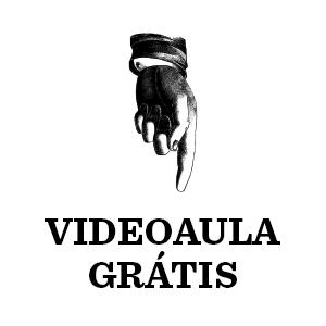"""Imagem com o texto """"Videoaula grátis"""""""
