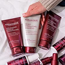 grow thicker fuller hair with keranique hair growth and regrowth hair care