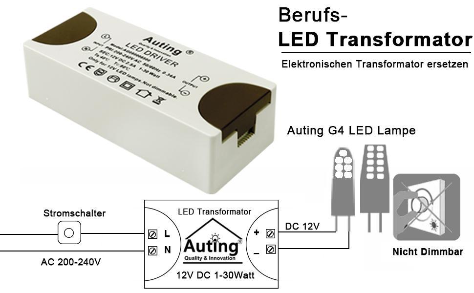 LED-transforator