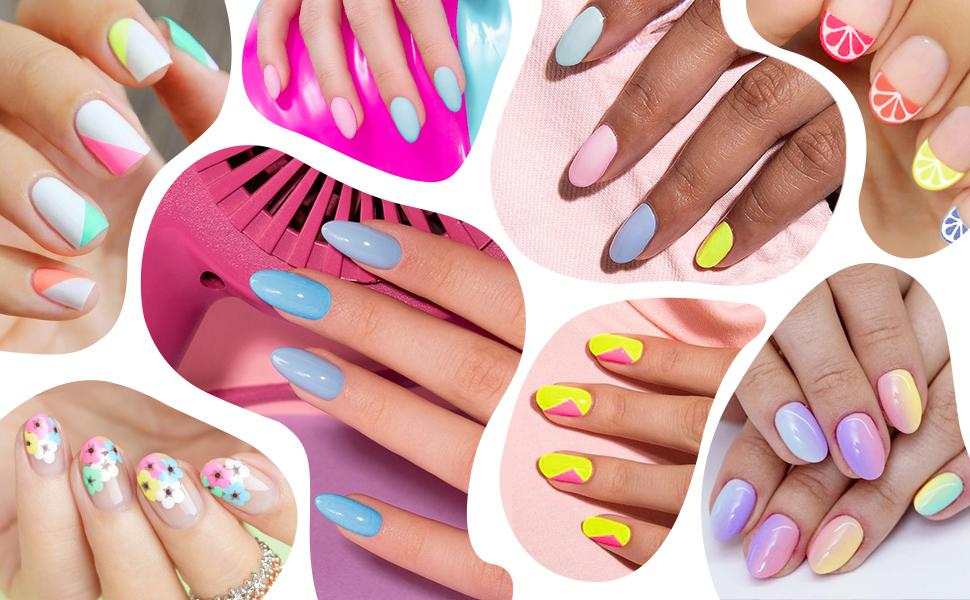Spring Summer Candy Colors