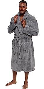 Gray robe