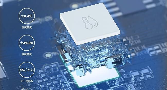 SwitchBot温湿度計-スイス製センサー