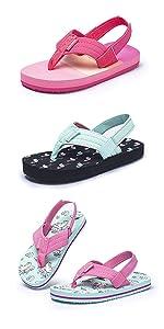 girls flip flops