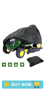 Rinding lawn mover cover