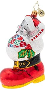 mouse dreaming ornament
