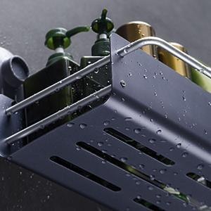 Suction cup shower shelf