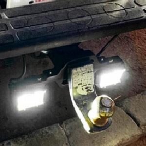 trailer hitch light bar