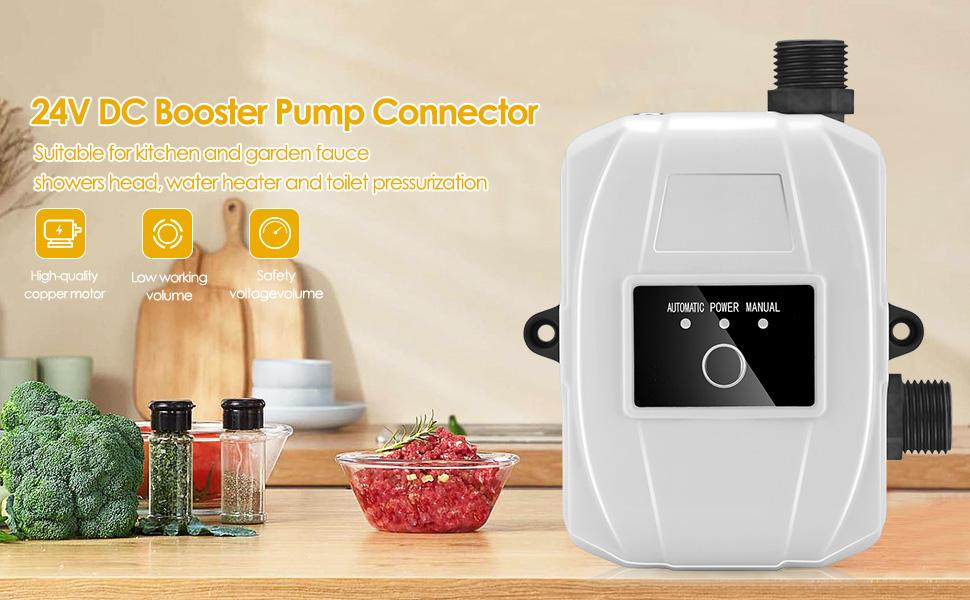 automatic water pump water pressure booster pump transfer pump case of water solar water heater