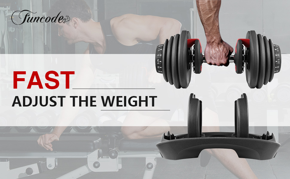 Fast adjust the weight