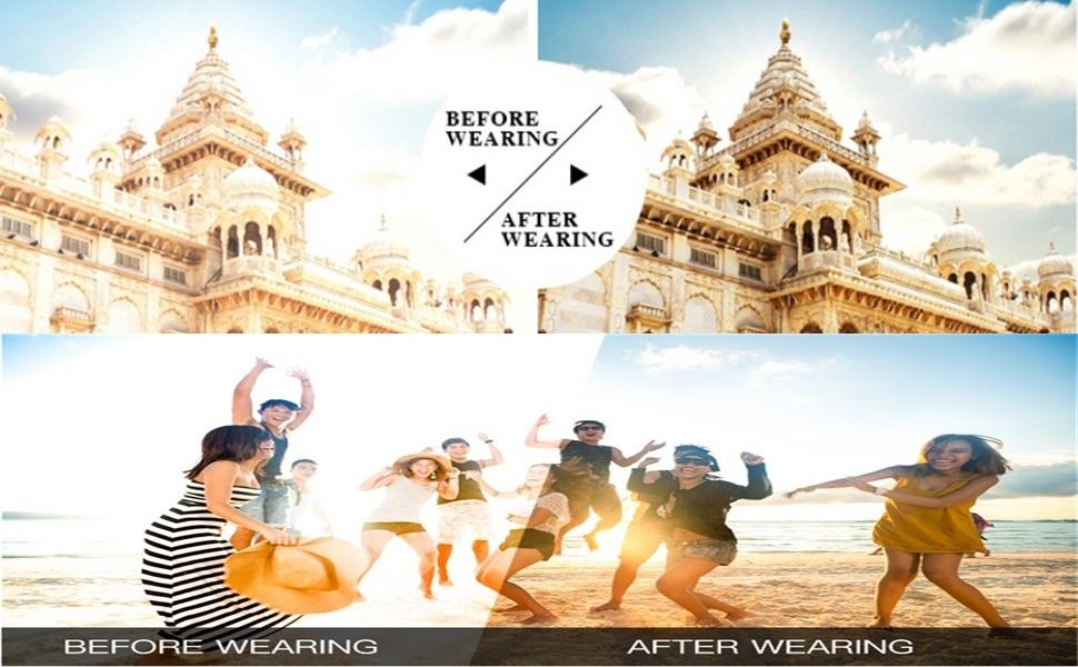 Before & After Wear Image