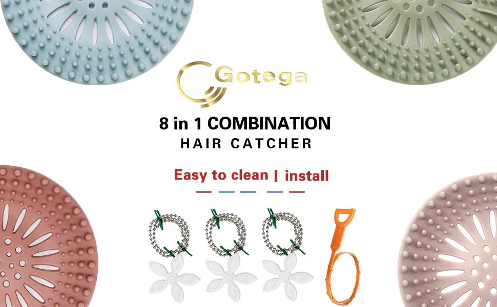 8 in 1 combination hair catcher