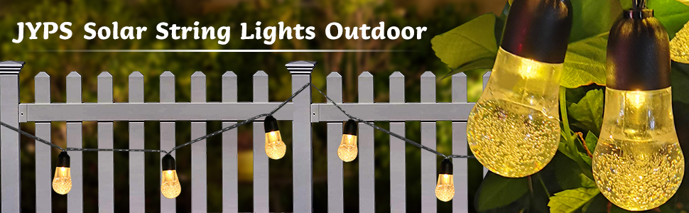 solar lights fence