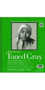 Strathmore, Toned Gray, Artist Paper