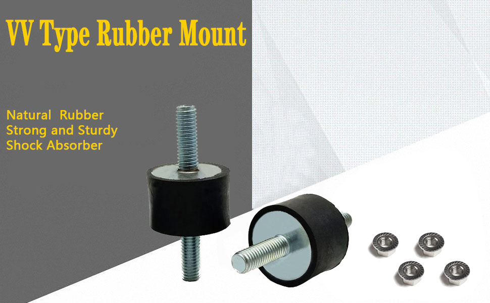 Rubber Studs Shock Absorber Anti-Vibration Isolator Mounts