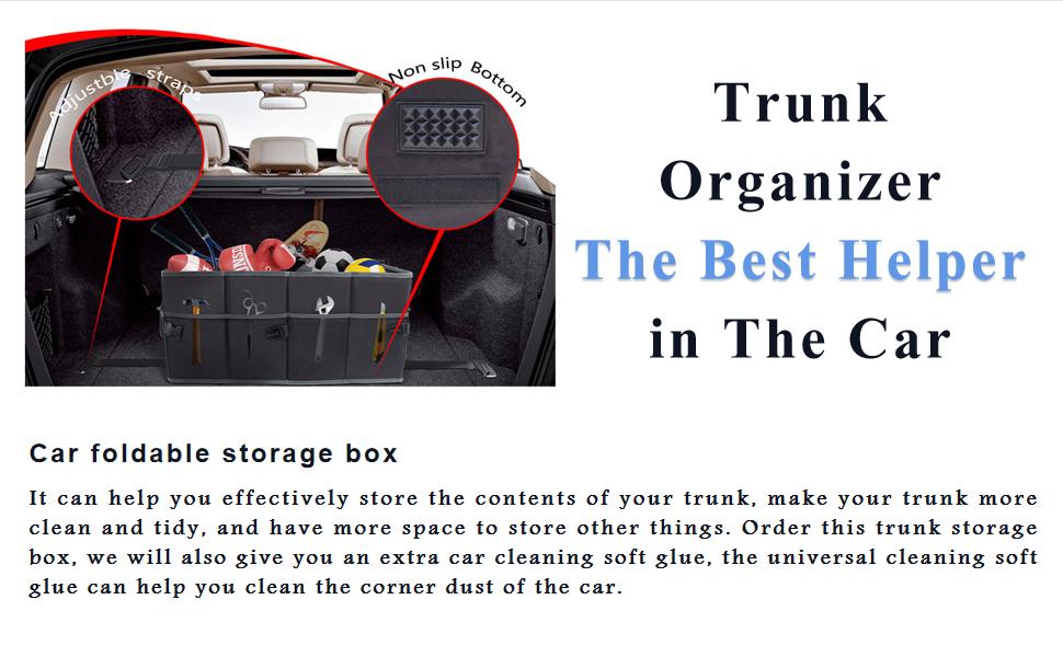 Trunk organizer- The best helper in the car