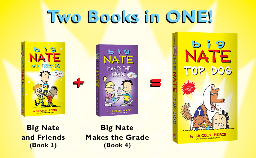Two books in one: Big Nate and Friends and Big Nate Makes the Grade