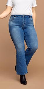 ELLEN zizzi jeans high-waist-jeans große größen plus size damen
