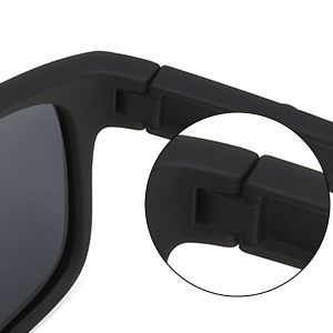 Sunglasses hinge