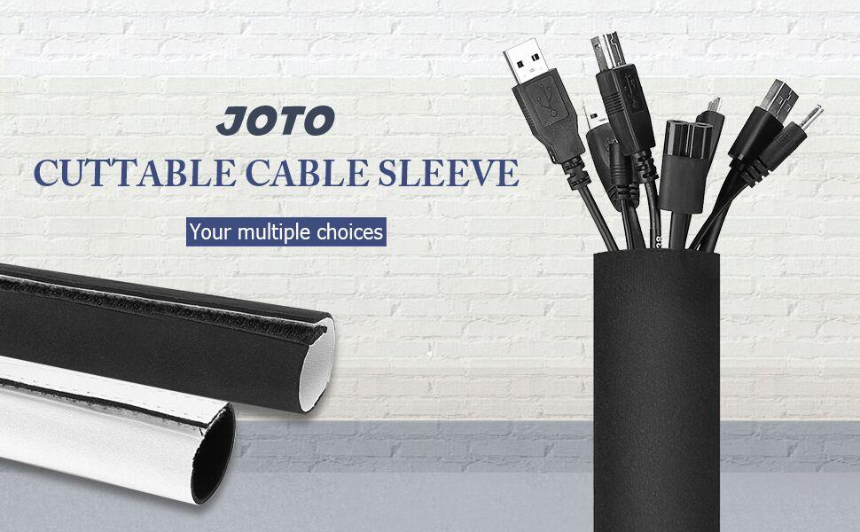 JOTO 10.83ft Cable Management Sleeve
