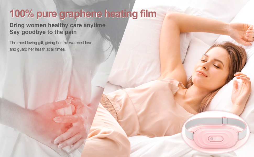 100% pure graphene heating film ,Bring women healthy care anytime