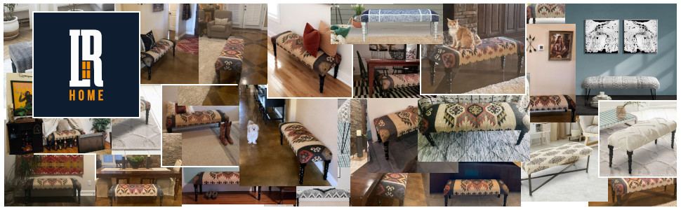 bench, seating, furniture, accent, decor