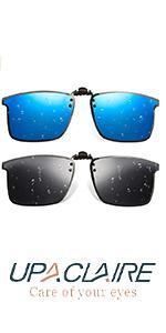 UpaClaire high-Definition Polarized Sports Sunglasses Clip, Stylish and Ultra-Light.
