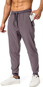 mens lightweight jogger pants