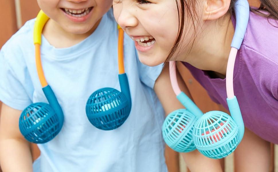 SPICE OF LIFE Hands-Free Wireless W Fan Mini for kids