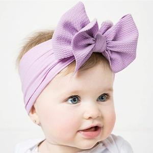 wide headbands baby