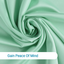 Gain peace of mind, 100% brand-new premium polyester