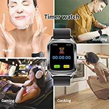 smart watch with timer