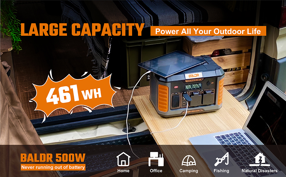 portable battery generator 500w