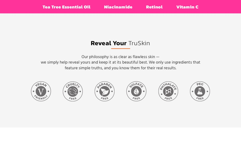 Tea Tree Reveal your TruSkin