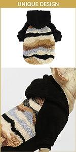 Camo Fuzzy Dog Hoodie B09FX5QDRX