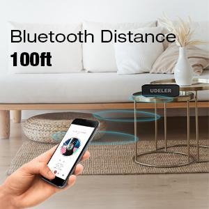 100 ft connection bluetooth speaker