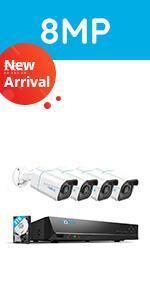 RLK8-810B4-A Security Camera System