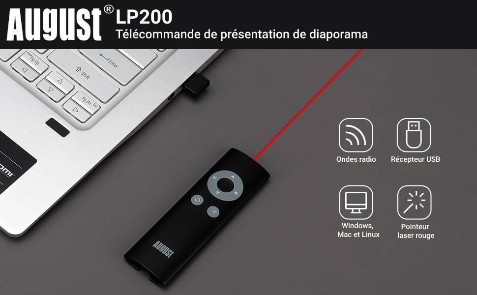 pointeur laser pour présentation à distance de diaporama powerpoint prezi slides