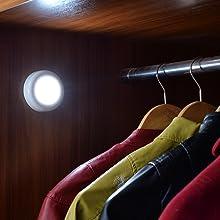 Tap lights, Push Lights, Touch Lights, Puck Lights, LED Closet Lights, Night Lights, STAR-SPANGLED