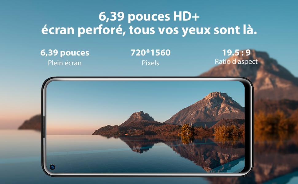 """Écran 6.39"""" HD+"""