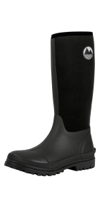 Mens wellingtons wellies boots neoprene waterproof warm yard walking muck steel reinforced comfy