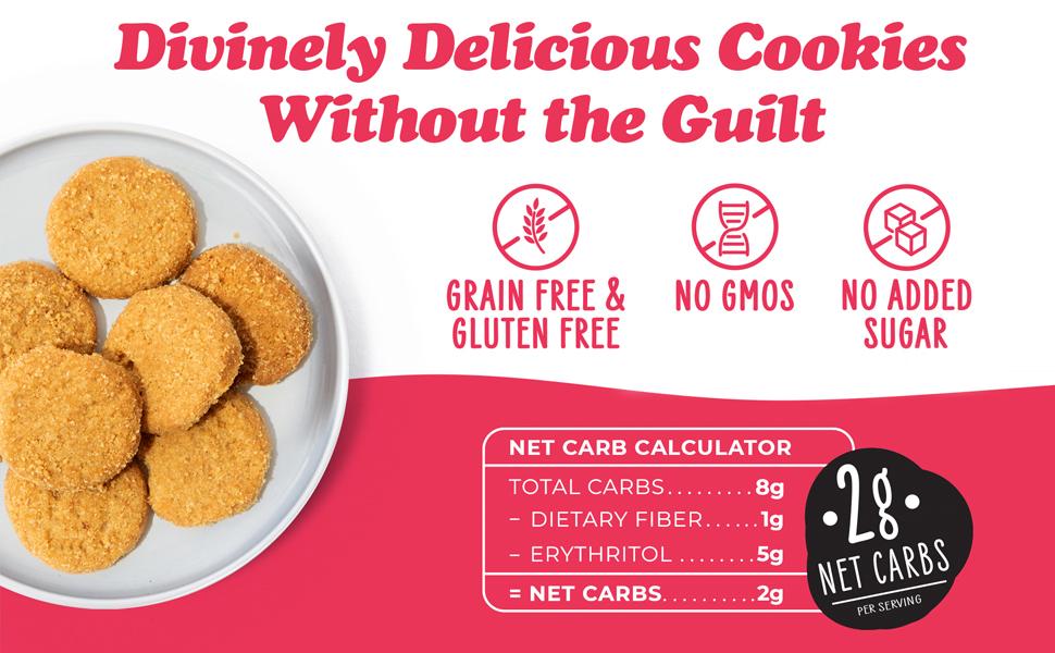 snickerdoodle cookies keto cookie low carb zero sugar snack