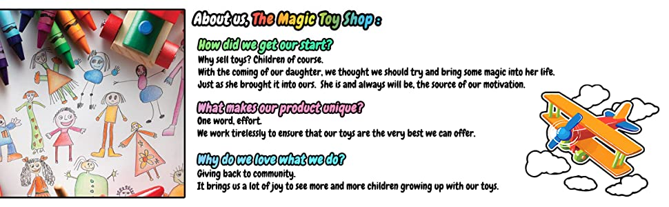 Company Introduction, The Magic Toy Shop Brand Story