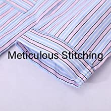 meticulous stitching