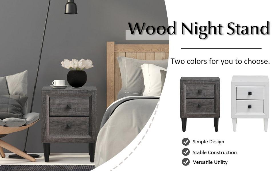 Nightstand Wooden