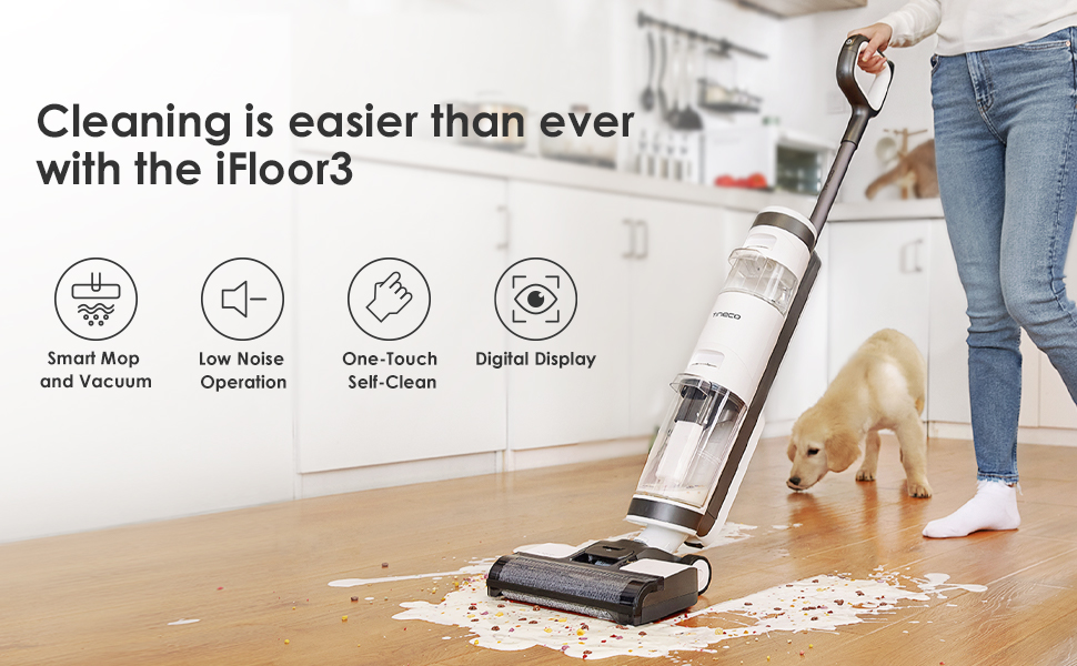 Vacuum and Wash at the Same Time