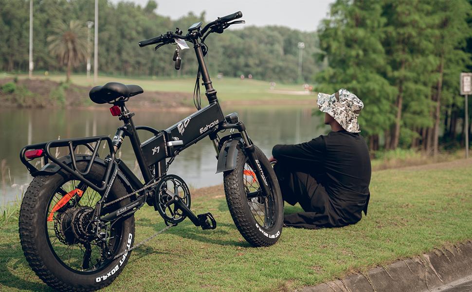 electric bike X7 Plus