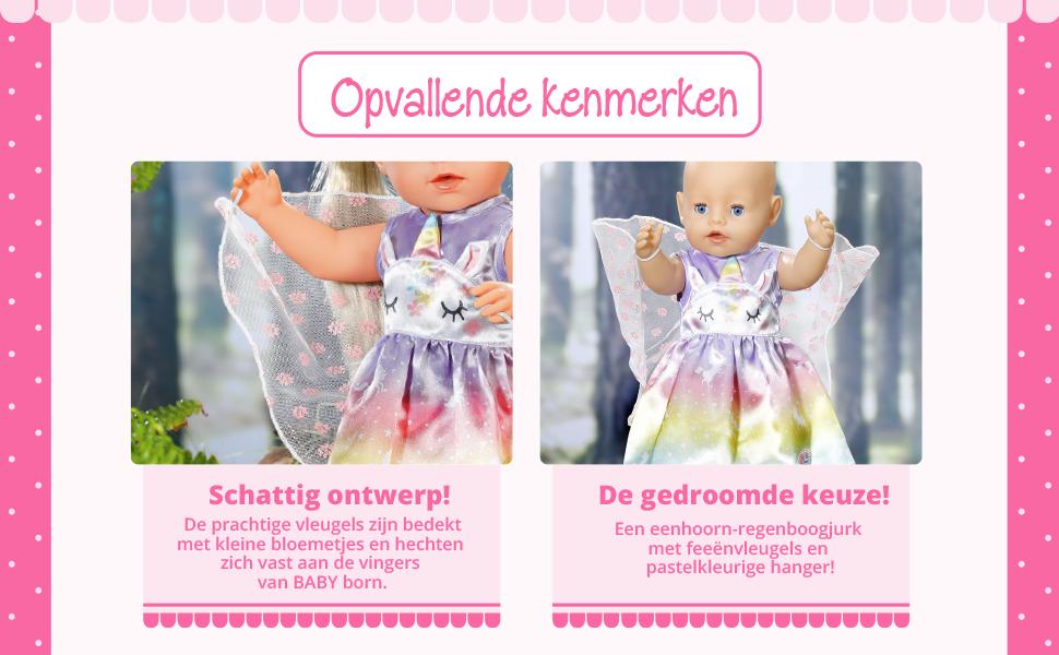 Baby Born Sprookjes Outfit voor Poppen van 43 cm Zapf